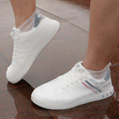 Fashion Non-slip Thicken Silicone Shoe Cover Outdoor Rain-proof Durable Protective Sleeve