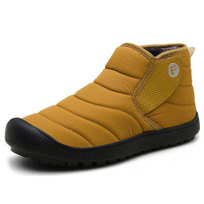 AILADUN mannen Mid-high Slip-on Snow Boots Outdoor Leisure Schoenen Grote Maat