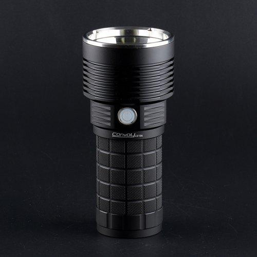 Convoy 4X18A CREE XHP70.2 LED Beads 4300lm Flashlight 4 Light Modes with Thermostat