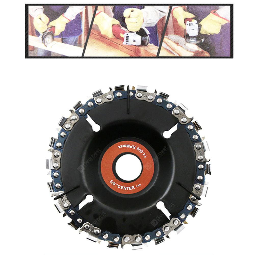 4 inch Angle Grinder Chain Disc Wood Slotted Saw Blade