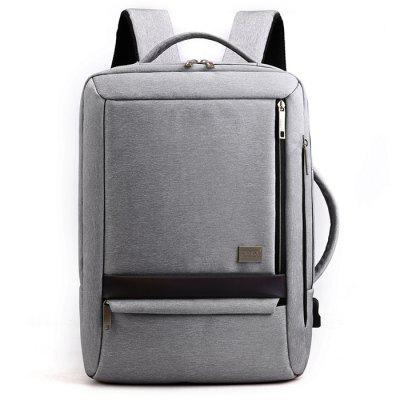 High-end Men's Business Backpack USB Interface Multifunction Portable