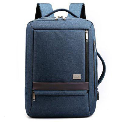 High-end pentru bărbați Business Backpack interfață USB multifuncțională portabil