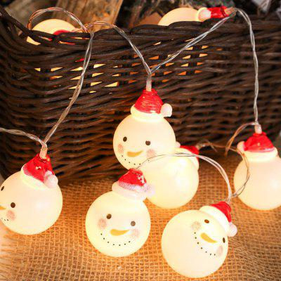 LED Christmas Snowman Outdoor decoratie licht String 3m 20 Lamp