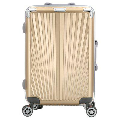 ABS + PC Material Silent Wheel Rolling Luggage Trolley Case Travel Suitcase with Aluminum Alloy Trolley 3-digit Combination Lock