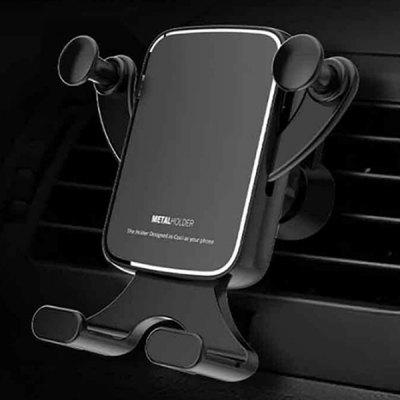Horizontale Direct-view Gravity Koppeling automatische vergrendeling Dashboard Car Mount Phone Holder