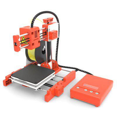 Easythreed X1 Mini Portable 3D Printer - Mango Orange EU Plug