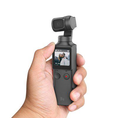 Gearbest FIMI PALM 3-Axis 4K HD Handheld Gimbal Camera Pocket Stabilizer 128° Super Wide Angle Anti-shake Shoot Smart Track Built-in Wi-Fi Bluetooth Remote Control ( Xiaomi Ecosystem Product )