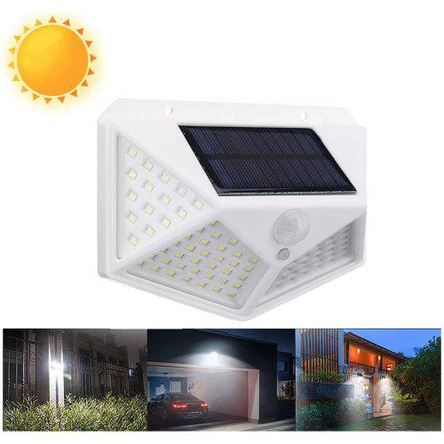 HI-Q 15 LEDSolar Power Rechargeable PIR Motion Sensor Security Light Garden Shed