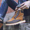 AILADUN New Winter Outdoor Big Yards Fashion Men's Boots Shoes - BROWN