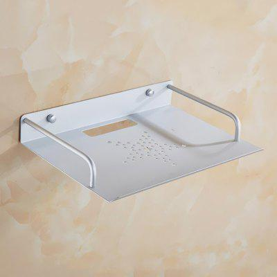 Concise Space Aluminum Mounting Bracket STB Shelf Network Router Wall Hanging Holder