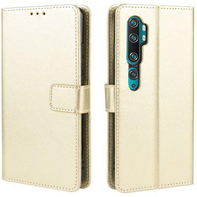 ASLING PU Leather Cover with Holder Wallet Card Storage Phone Case for Xiaomi Mi Note 10 / 10 Pro / CC9 Pro