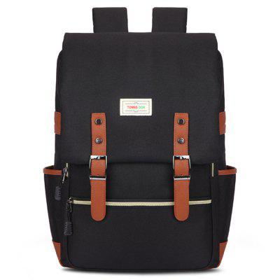 Outdoor Canvas Materiaal Big Travel Backpack Fashion Bag Vintage Heren