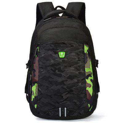 Junior High School Bag 300D Oxford Travel Backpack Men's