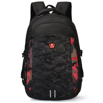 300D Oxford Travel Backpack Men's Junior High School Bag