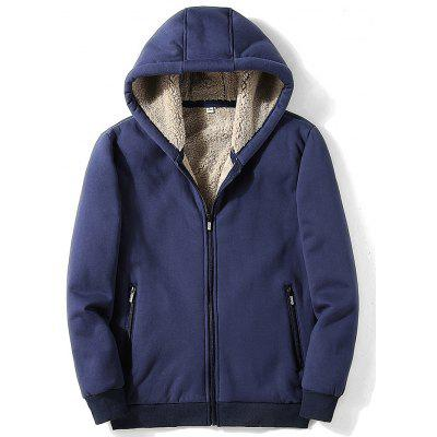 Mannen Winter Plus Velvet Sweatshirt Hoodie