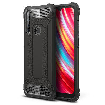 Asling Diamond Armored Series 360 Degrees beschermende Shell Mobile Phone Case voor Xiaomi redmi Note 8T