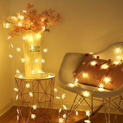 LED Snowflake Light String Christmas Decoration 3m 20 Lamp
