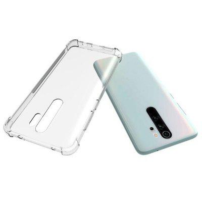 ASLING High Quality Corners Airbag Anti Drop Transparent Soft Shell Phone Case for Xiaomi Redmi Note 8T / Note 8 Pro / Note 8