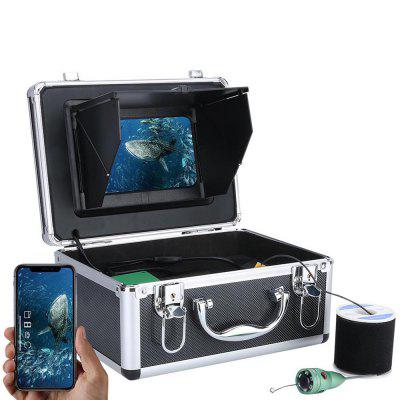 F011M-W 7 inch Underwater Intelligent 6W White LED Light Visual Fishing Device Wireless WiFi APP Control with 2.0MP HD 1080P Camera