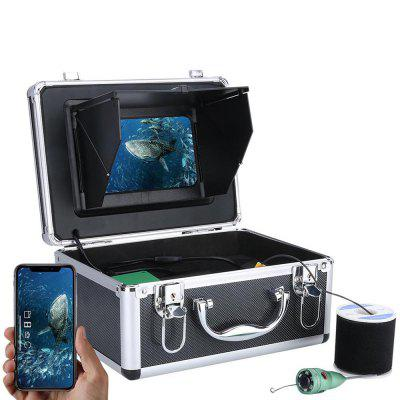 F011M-IR 7 inch Underwater Intelligent 6W Infrared Light Visual Fishing Device Wireless WiFi APP Control with 2.0MP HD 1080P Camera