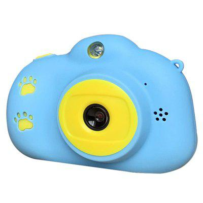 Pritom BT-C06P Kids Mini digitale camera 12MP 2,4 inch HD-scherm Leuke Kinderen Camcorder met Play Games