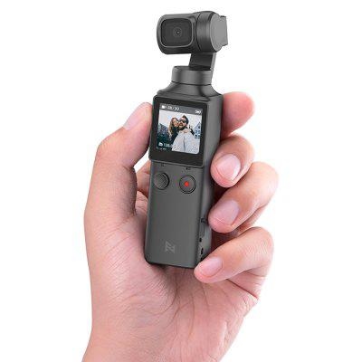 FIMI PALM 3-Axis 4K HD Handheld kardanový fotoaparát Pocket Stabilizer 128 ° Super Wide Angle Anti-shake Shoot Inteligentní Track Vestavěný Wi-Fi technologie Bluetooth Remote Control (Xiaomi Ecosystem Product)