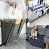 Durable Felt Bedside Dormitory Storage Bag Solid Color Holder - DARK GRAY