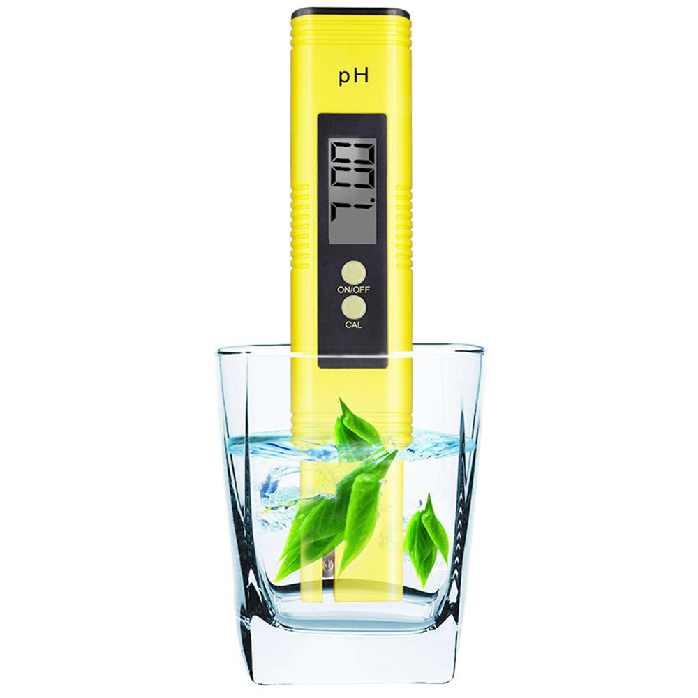 Portable Digital Electric PH Meter LCD Water Hydroponics Aquarium Pool Quality Tester