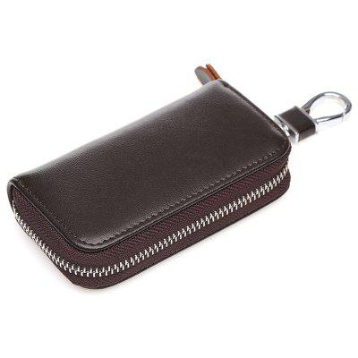 zxl234 Universal Multifunctional Leather Car Key Cover Zipper Case
