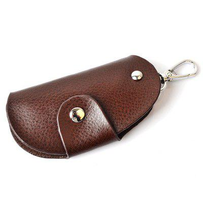 zxl235 Universal Multifunction Leather Car Key Cover Case Keychain