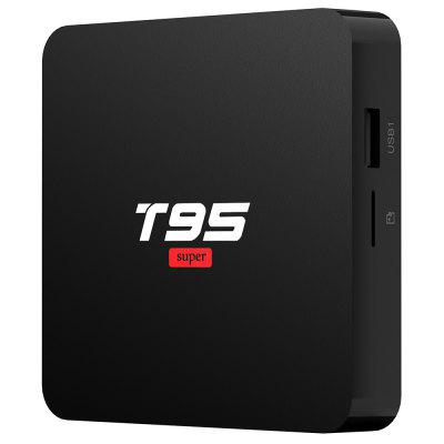 T95 Super Android 10,0 Smart 4K TV Box