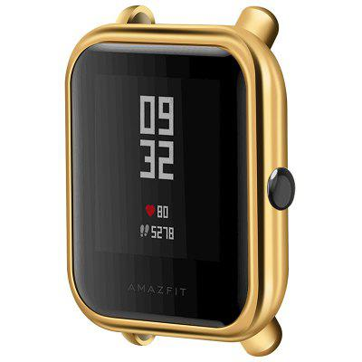 TAMISTER Soft TPU Full-cover Electroplate Protective Shell Frame for Amazfit MiFit Youth Smart Watch