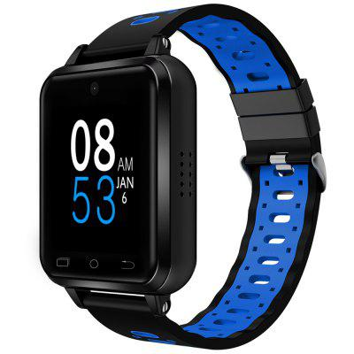 Finow Q2 4G inteligent ceas telefon Android 6.0 MTK6737 Quad Core 1GB / 8GB SmartWatch Heart Rate pedometru