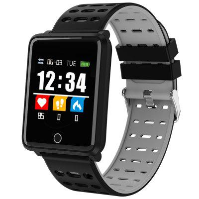 A8 Smart Bluetooth Watch IP67 waterdichte sport Smartwatch Health Data Monitor Activity Tracker met Heart Rate / Blood Pressure / Oxygen Monitor