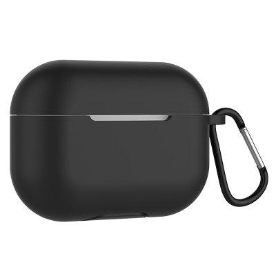 Wireless Bluetooth Earphone Silicone Anti-drop Protective Cover Case with Buckle for AirPods Pro 3 Replacement Accessories