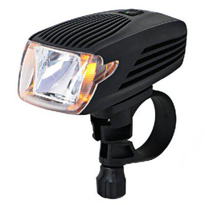 Meilan X1 USB Rechargeable 60lm Bicycle Front Lamp Cree LED XPE Headlight Manual Operation Automatic Dual Modes