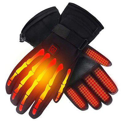 Third Gear Electric Heating Gloves Autumn Winter Warm Ski Glove