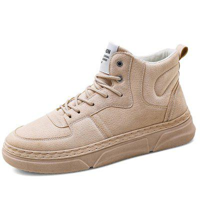AILADUN Men's High-top Casual Cotton Sneakers Schoenen