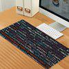 Oversized Cartoon Landscape Natural Rubber Game Mouse Pad - MULTI