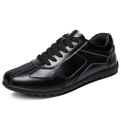 AILADUN Men's Business Casual Leather Shoes