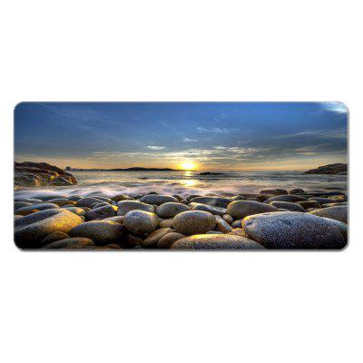 Oversized Landscape Natural Rubber Mouse Desk Pad