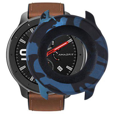 TAMISTER Soft Smart Watch Dial Silicone Protective Case Full-protection Frame Cover for Amazfit GTR 47mm