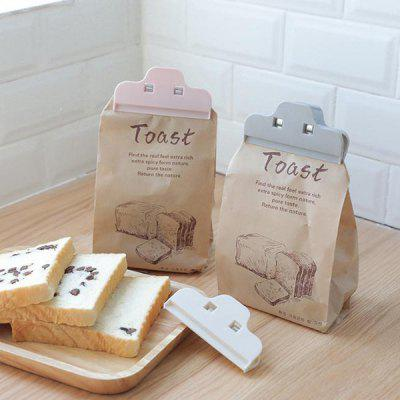 Kitchen Food Milk Tea Coffee Snack Seal Clip Concise Mini Bag Sealer 3pcs
