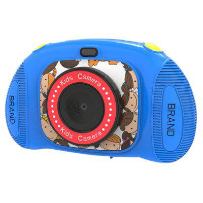 Pritom BT-C10 Kids Mini digitale camera 8MP 2,4 inch HD-scherm Leuke Kinderen Camcorder met Play Games