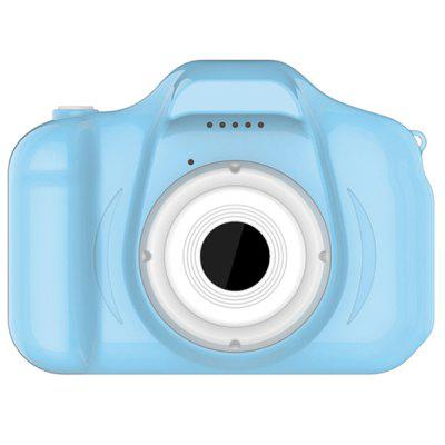 Pritom BT-C02H Kids Mini Digitale Camera 2.0 inch HD-scherm Leuke Kinderen Camcorder met Play Games