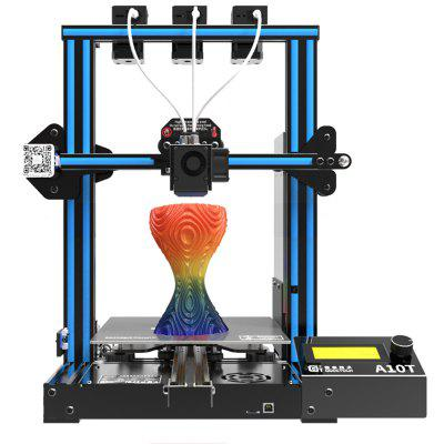 Geeetech A10T Mix-color 3D Printer