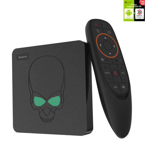 Beelink GT-King Android 9.0 and CoreELEC Linux Dual Operating System 4K TV Box