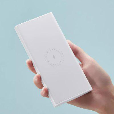 Xiaomi 10W Wireless Output 18W Wired Fast Charging Portable Power Bank 10000mAh 2-way Quick Charge USB Battery Charger Youth Version