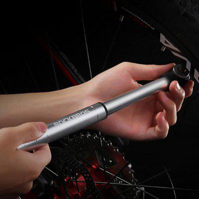 ROCKBROS Mini Bike handheld draagbare Tire Pump 100psi Bicycle bidirectionele inflatie voor MTB, Basketbal, Yoga Ball, Opblaasbare Toy