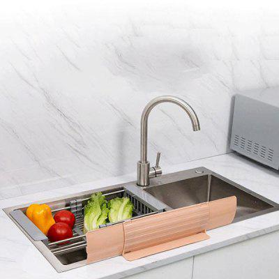 Kitchen Sink Vegetables Dishes Washing Water Splash Guard Retractable Universal Splashproof Baffle